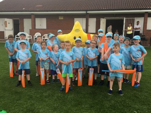 Wilnecote CC and their army of All Stars