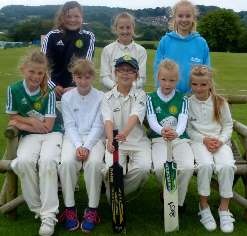 Checkley's Under 11's team
