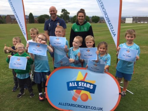 Silverdale's All Stars with their certificates